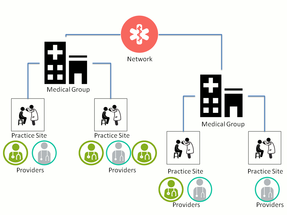 [ Hierarchy of Providers in the MPD ]